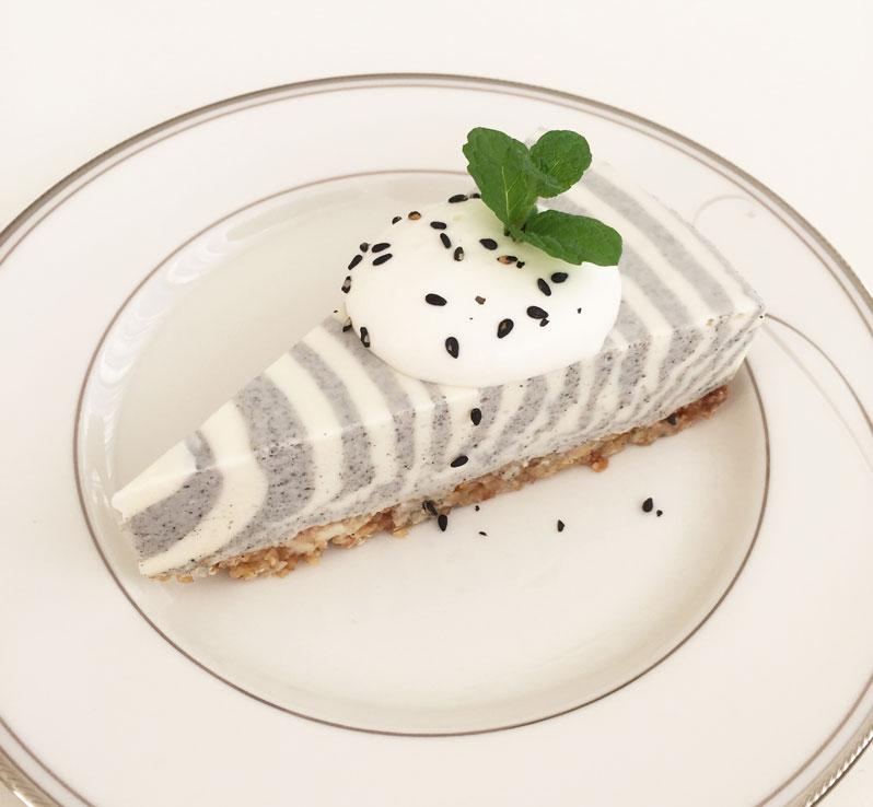 シャレトンネスイーツ ゼブラチーズケーキ