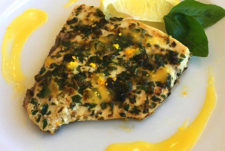 シャレトンネランチメニュー魚